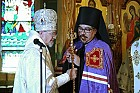 Metrpolitan Herman with the newly-consecrated Bishop Alejo of Mexico City