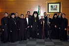 Mexican Clergy with Metro. Herman & Archbishop Dmitri