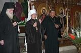 Archbishop DMITRI, Metro. HERMAN, Padre Ernesto Rios