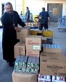 Fr. Antonio at Food Bank