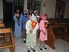 Girls of Hogar Rafael at Dormition Feast